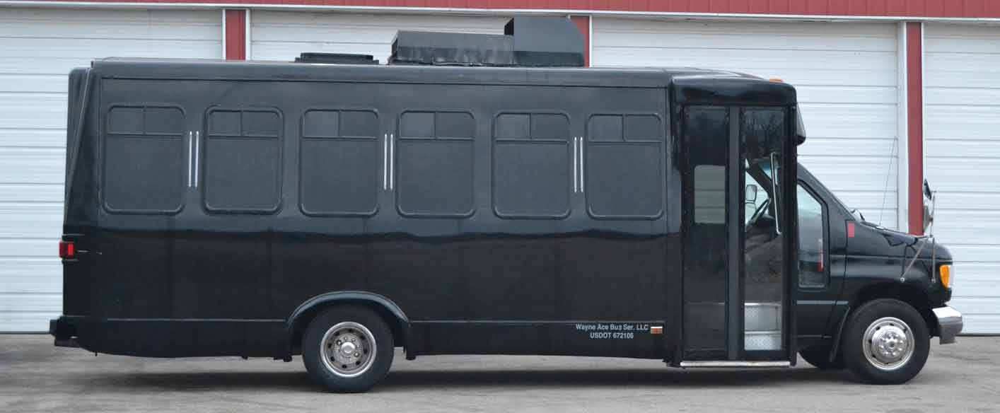 party bus rental company madison janesville