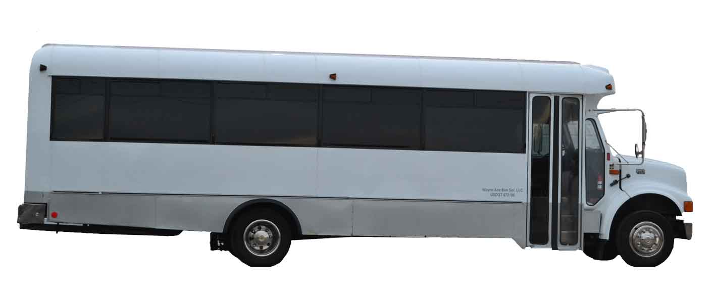 limo bus rental company madison janesville wi