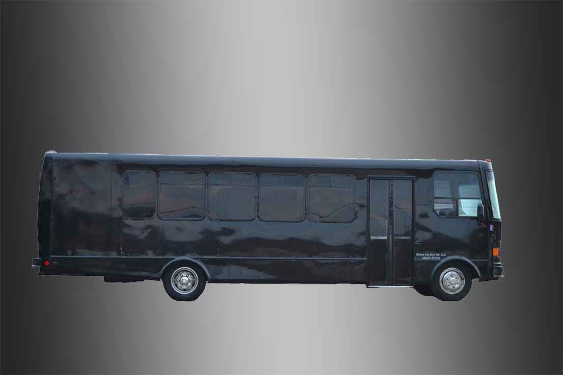 party bus rental company in janesville