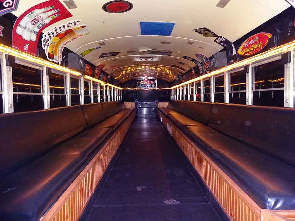 PARTY BUS RENTAL JANESVILLE