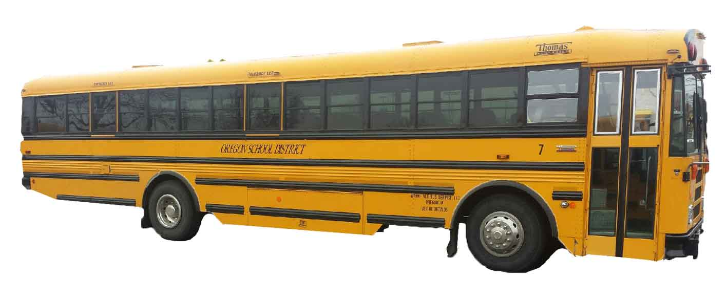 rent a school bus in madison